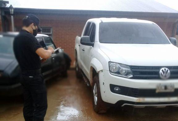 Camioneta robada en Puerto Leoni fue recuperada en Esperanza