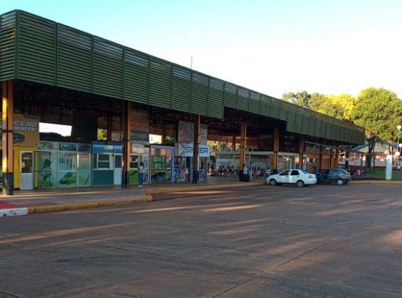 Poca venta de pasajes en la terminal de ómnibus de Jardín América