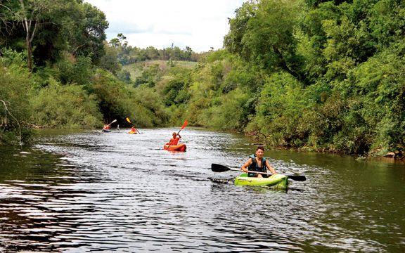 La selva, el arroyo y una alternativa diferente en Acaraguá