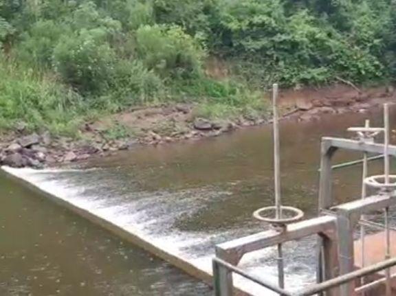 Oberá: servicio de agua potable al borde del colapso debido al bajo caudal de arroyos