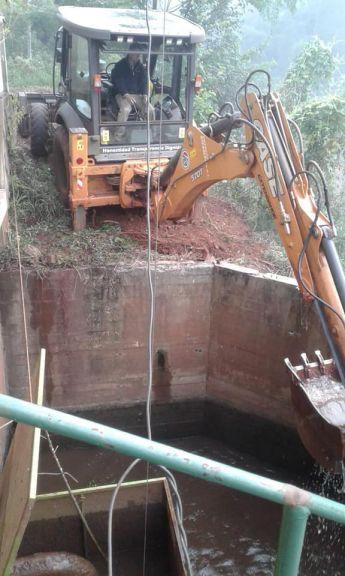 Arroyos en baja ponen en jaque la provisión de agua