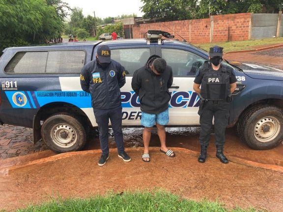 Iguazú: Detuvieron a un hombre con pedido de captura por tráfico de drogas