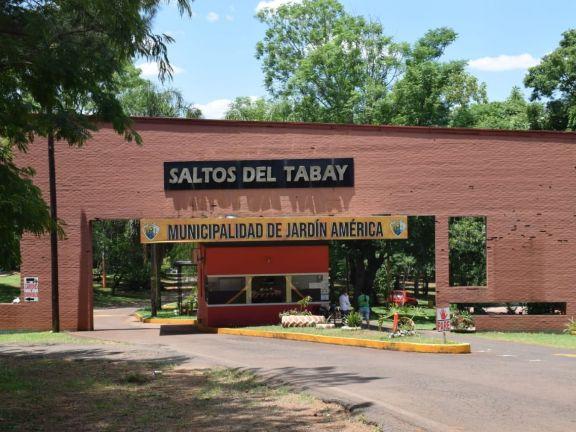 Se reabre el complejo Saltos del Tabay únicamente para residentes de Jardín América