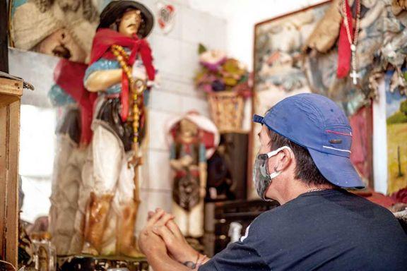 Celebraciones aisladas de fe por el Gauchito