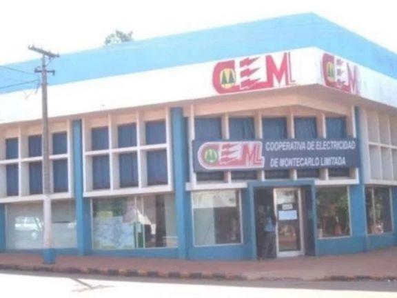 Montecarlo: Un cajero de la cooperativa de electricidad tiene coronavirus