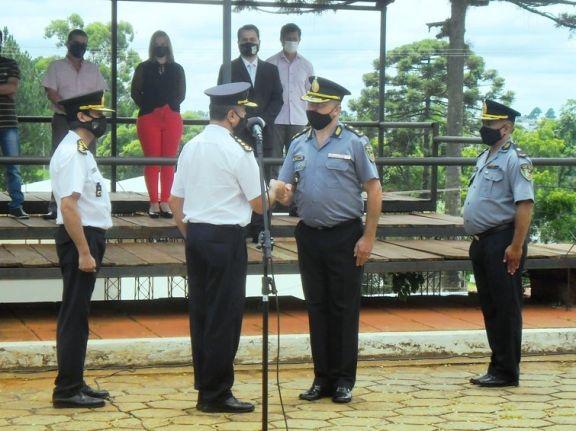 El comisario Viera asumió la jefatura de la Unidad Regional de Irigoyen
