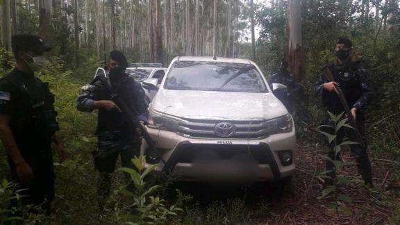 Puerto Esperanza: delincuentes armados robaron otra camioneta