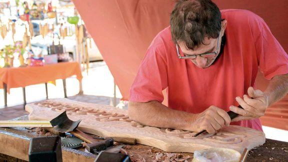 Jorge Franchi, tallador urbano