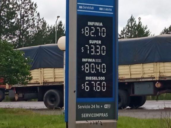 Malestar por aumentos en el costo del combustible en el interior de Misiones