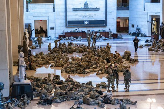 Capitolio Militarizado
