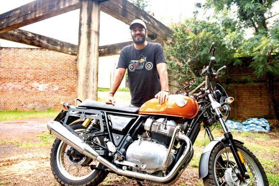 El productor de historias Nacho Saso recorre Misiones