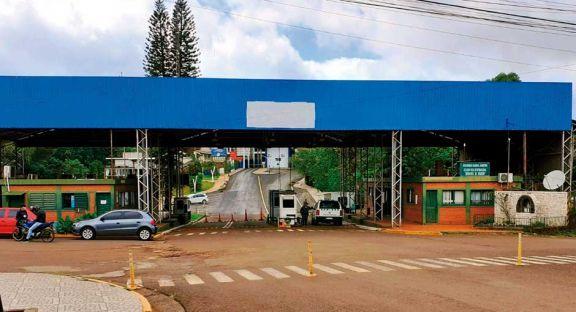 Baja demanda de reales en la frontera de Bernardo de Irigoyen