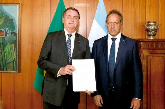 Bolsonaro garantizó la compra del trigo argentino