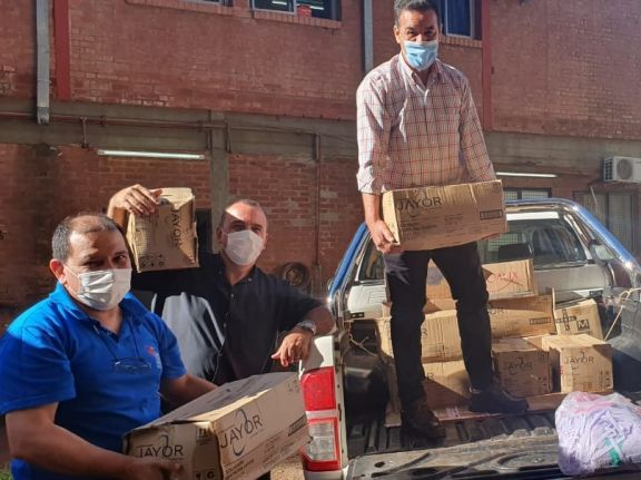 Las donaciones de San Pedro llegaron al Samic de Eldorado