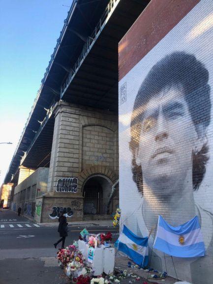 Maradona en Nueva York