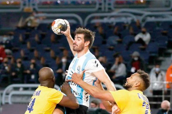 Handball: estreno con victoria de Los Gladiadores en el Mundial
