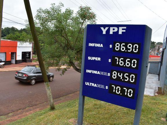 Combustibles: El nuevo aumento activó el pedido de ITC diferenciado para toda la provincia