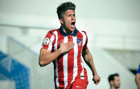 Sigue la dinastía: Giuliano Simeone debutó con gol en el Atlético de Madrid B
