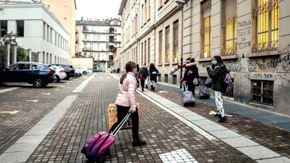 Italia aumentó la reapertura de las escuelas secundarias