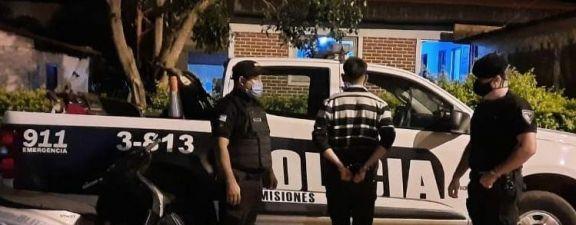 Campo Viera: motociclista quiso coimear a la Policía