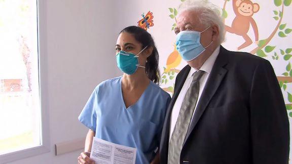 """""""La campaña de vacunación se viene desarrollando en tiempo y forma"""", aseguró el ministro de Salud"""