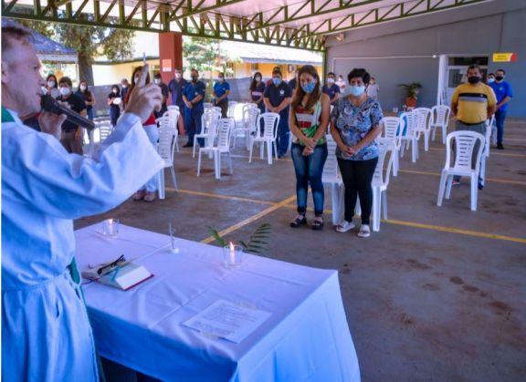 Misa en homenaje a José Gómez, chofer de la Red de Traslados víctima del Covid-19