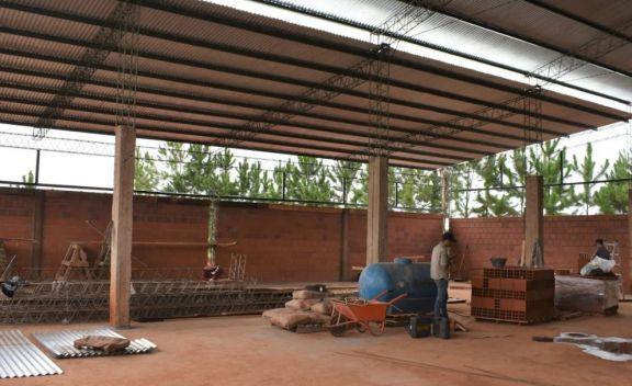 San Pedro: trasladan el taller para iniciar la construcción del nuevo edificio municipal