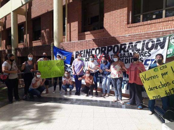 Reincorporan a 13 trabajadoras del Parque de la Salud