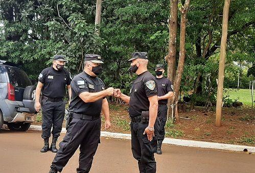 Asumieron jefes de dependencias policiales de Candelaria y Profundidad