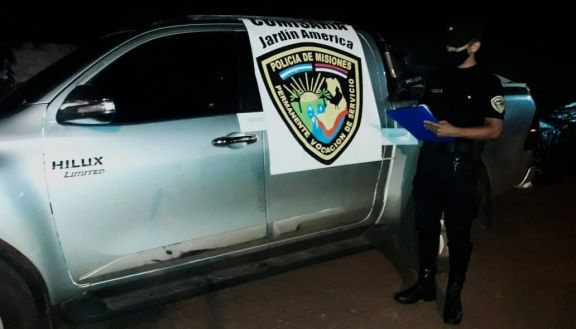Jardín América: detuvieron a un agresor de policías