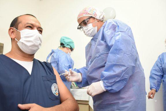 Misiones a menos de 90 mil vacunas de cubrir la población objetivo con la primera dosis