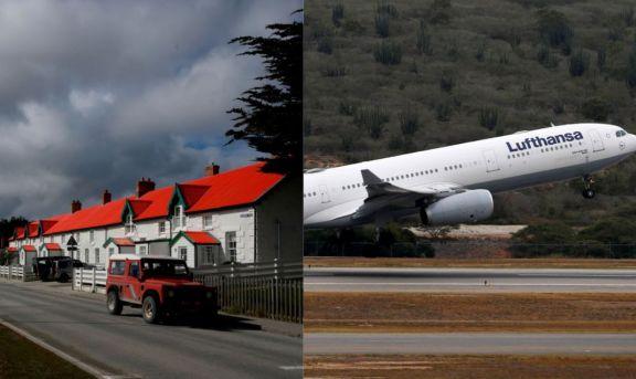 Lufthansa le pidió autorización a la Argentina para volar a las Islas Malvinas desde Alemania