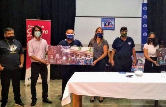 Veteranos de Malvinas entregaron un reconocimiento a las autoridades de Montecarlo