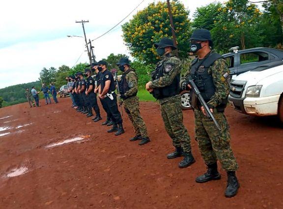 Refuerzan operativos de control en la zona rural de Montecarlo