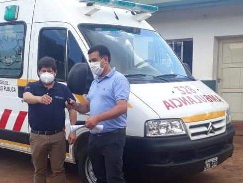 Jardín América cuenta desde hoy con una nueva ambulancia