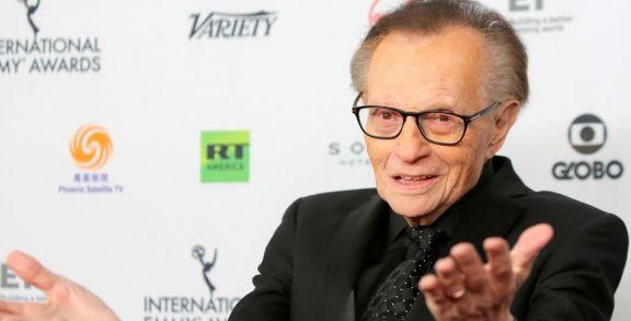 Murió el famoso presentador Larry King a los 87 años