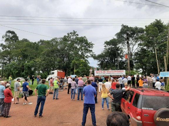 Montecarlo: productores reclaman mayor seguridad en zonas rurales