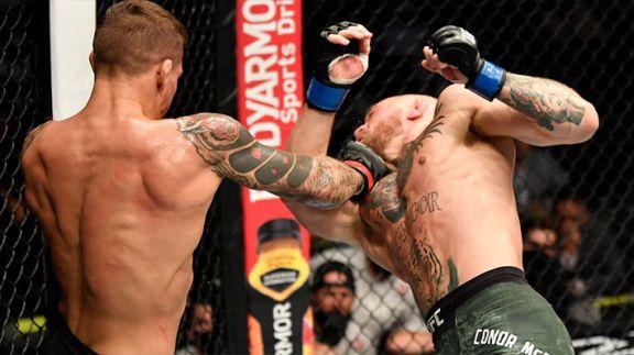 El irlandés McGregor cae por nocaut en su regreso a la UFC