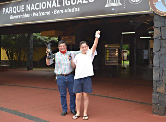 Después de 48 horas y ante el rechazo de la sociedad, Parques Nacionales devolvió la cámara de fotos a Sixto Fariña