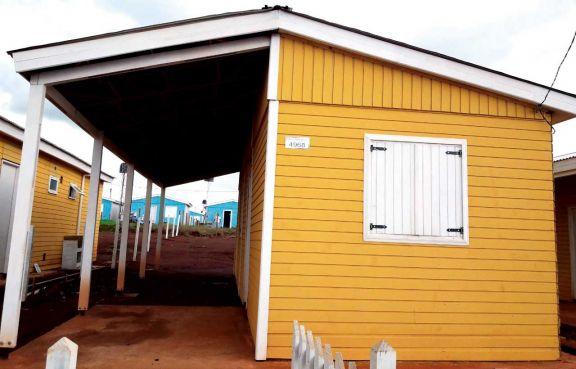 Misiones donó a San Juan 25 casas luego del terremoto