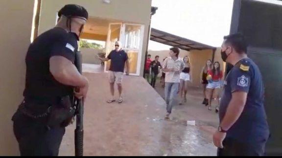 Hay alrededor de 400 personas imputadas por la fiesta clandestina en Santo Tomé