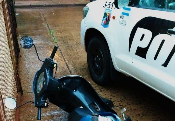 Posadas: un paseo con una moto robada