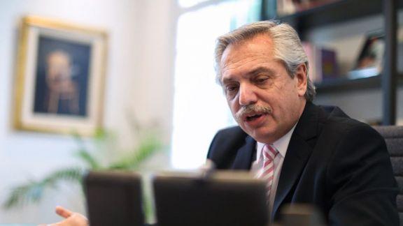 """Fernández: """"Hemos decidido confirmar el compromiso de nuestro país con la agenda climática"""""""