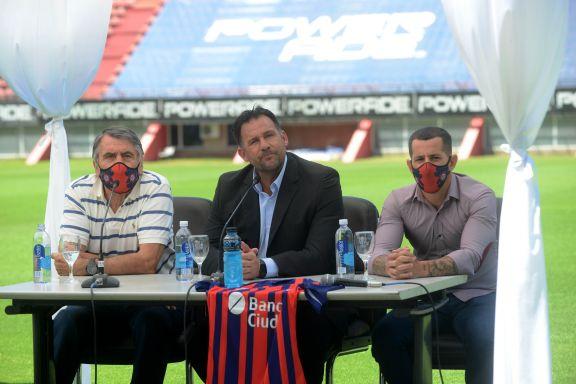 """""""Quiero que San Lorenzo tenga personalidad y protagonismo"""", dijo Dabove en su presentación"""