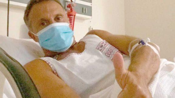 Sergio Lapegüe, internado por coronavirus