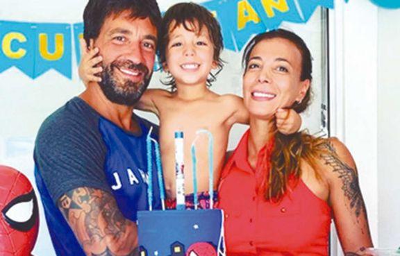 Félix celebró cuatro años con sus papás