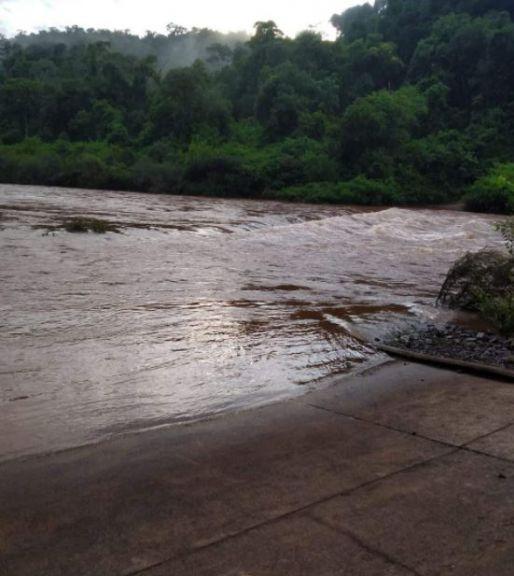 Por crecida del Yabotí, el Parque Provincial Moconá permanecerá cerrado
