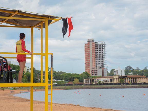 Continúan los trabajos preventivos por ataques de palometas en zona de playas y balnearios