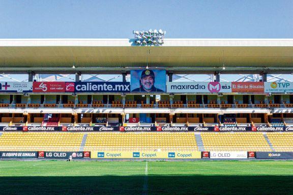 """El homenaje a Maradona en Sinaloa: """"El jefe nos cuidará"""""""