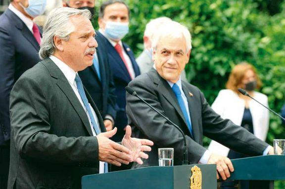 Fernández y Piñera con la mirada puesta en la economía